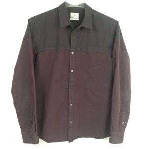Adriano Goldschmied AG L Slim Fit 2-tone shirt